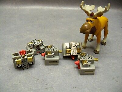 Contact Block Bst001 Idec Control Unit 1nc 30 Mm Switch Spst-nc Lot Of 5