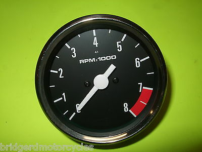 TRIUMPH BONNEVILLE REV COUNTER TACHOMETER OEM 60 7223