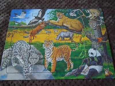 Longleat Animal Jigsaw Lions Tigers Rhino Elephant Panda Bears
