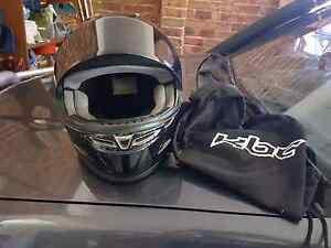 KBC motorbike helmet with bag size large  $30 Oxley Vale Tamworth City Preview
