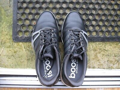 ADIDAS ADIPOWER BOOST GOLF SHOES -  SIZE 10 UK BLACK