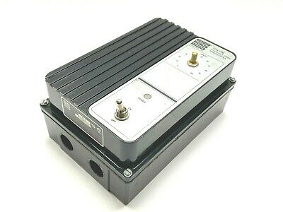 Bodine 815 Type Fpm Adjustable Speed Torque Control Dc Motor Control