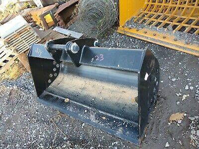 Oem Cat 60 Backhoe Cleanup Grading Bucket 5045mm Pins 416 420 430