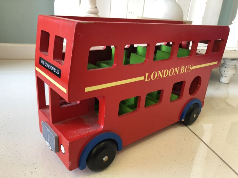 Cute Wooden Red London Bus Toy Toys Indoor Gumtree