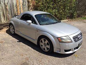 2004 Audi TTS CONVERTIBLE $12,500.00 CDN