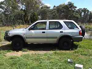Holden Frontera s v6 4x4 2000 model Conara Northern Midlands Preview