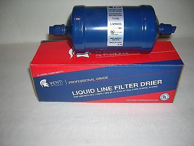 1-liquid Line Filter-drier-38 Sweat-163s-16 Cu In.-venti Air-ul Listed-new