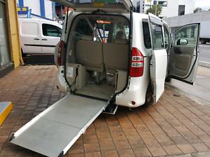 2009 TOYOTA voxy  sloper ramp WELCAB WHEELCHAIR 8 seater Granville Parramatta Area Preview