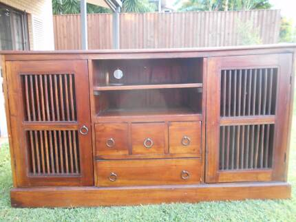 Entertainment Unit - 100% Solid Timber