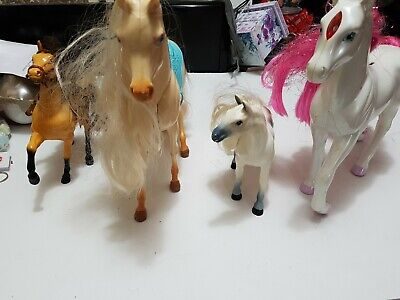 Barbie Horses and 1995 Hasbro Pawtucket Pony Magical