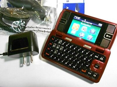 GOOD! LG enV2 vx9100 Envy Camera QWERTY CDMA Video Flip VERIZON Cell Phone