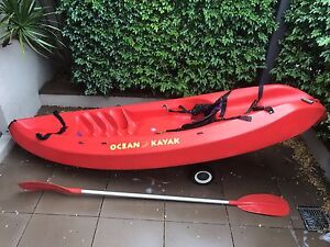 Ocean Kayak with beach wheels North Sydney North Sydney Area Preview