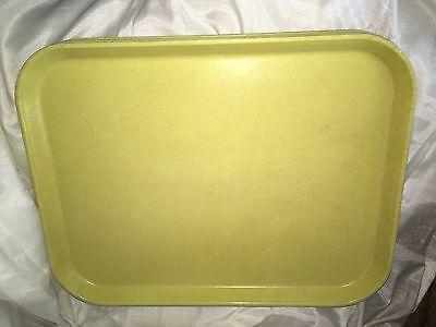 Vtg Cambro Camlite Cafeteriabuffet Serving Traysplatters Fiberglass Yellow