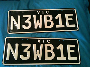 Personalised number plates Vic Launching Place Yarra Ranges Preview