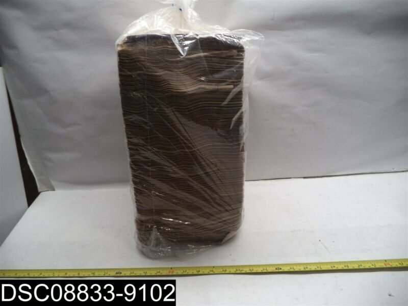 """QTY=3000: Paterson Natural Brown 2 Ply 17"""" X 17"""" Dinner Napkins"""
