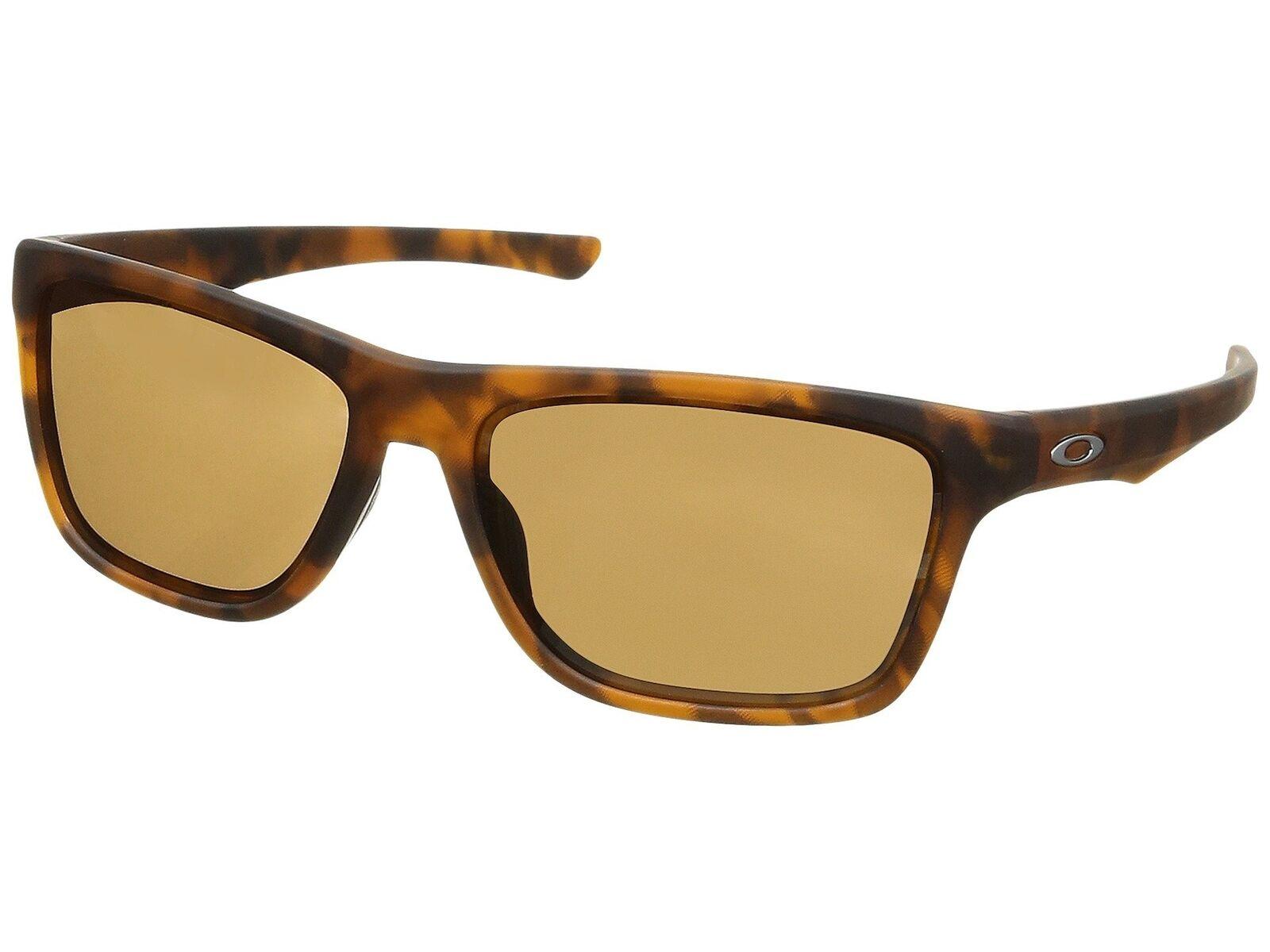 63f652f6a81 Oakley Holston OO9334-10 Sunglasses Matte Brown Tortoise Prizm Tungsten Lens