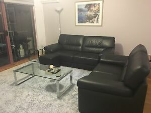 Two 2.5 weather leather couch Kingston South Canberra Preview