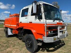 Isuzu FTS700 4x4 Dualcab/Crewcab Firetruck.  Ex NSW RFS Inverell Inverell Area Preview
