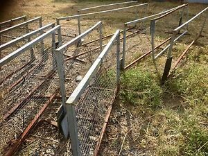 Dividers/barriers/metal frames with chicken wire Thornlands Redland Area Preview