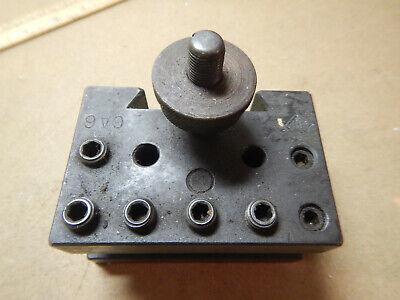 Genuine Aloris Ca6 Ca 6 Tool Holder For Quick Change Metal Lathe Turret