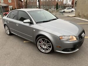 2007 AUDI A4 S-Line Manual - New Timing belt/Water Pump