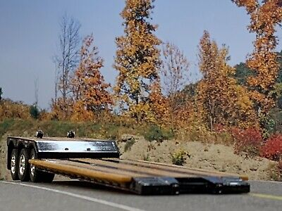 1/64 DCP BLACK FONTAINE RENEGADE TRI AXLE STRETCH LOWBOY TRAILER 2