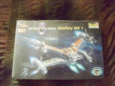 Revell New in box Babylon5 Starfury MK 1 1998 plastic model never been opened