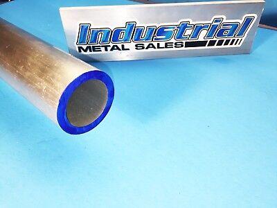 1-58 Od X 12 X 14 Wall 6061 T6511 Aluminum Round Tube--1.625 Od X .250 W
