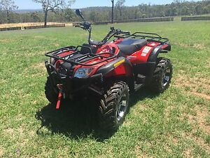 2011 Rubicon 500cc 4x4 Quad bike Meringandan Toowoomba Surrounds Preview