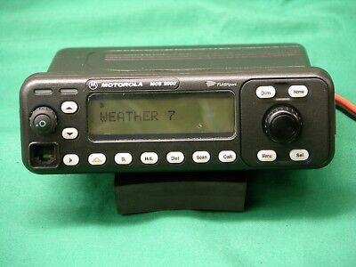 Motorola Mcs2000 Ii 25 Watt Dash Mount Radio 146 - 174 Vhf - Complete Package.