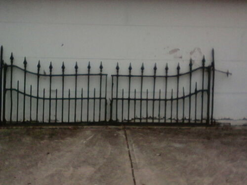 Antique Wrought Iron Gate - Heavy/Sturdy (