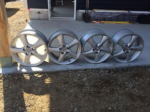 4x mags Mazda 17""