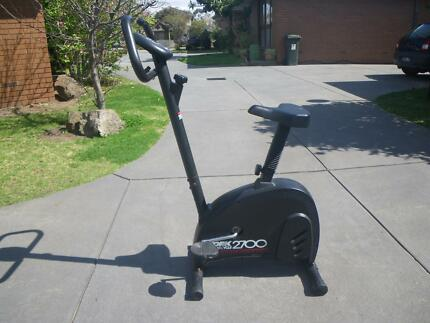 YORK HOMECYCLE2700 UPRIGHT MAGNETIC EXERCISE BIKE FITNESS GYM Maribyrnong Maribyrnong Area Preview