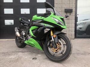 2013 Kawasaki ninja zx6r racer
