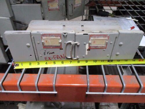 Frank Adam Klampswfuz Ksf3333 30a 3ph 240v Twin Panelboard Switch Used