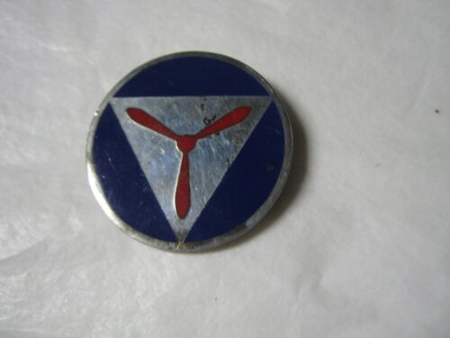 VINTAGE MILITARY WWll STERLING PROPELLA PIN