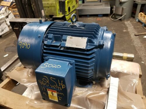 NEW SIEMENS 25 HP ELECTRIC AC MOTOR 460 VAC 1775 RPM 284T FRAME 3 PHASE RGZEESD
