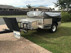 Tough and versatile off road camper trailer Raceview Ipswich City Preview