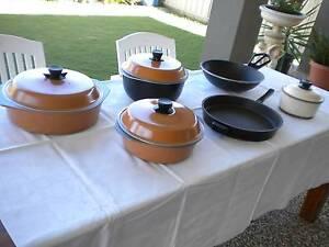 BESSEMER POTS AND PANS + 4 LIDS Kidman Park Charles Sturt Area Preview
