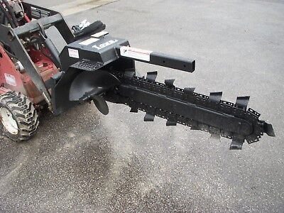 Toro Dingo Mini Skid Steer Attachment - Lowe Xr-7 36 By 4 Trencher - Ship 199