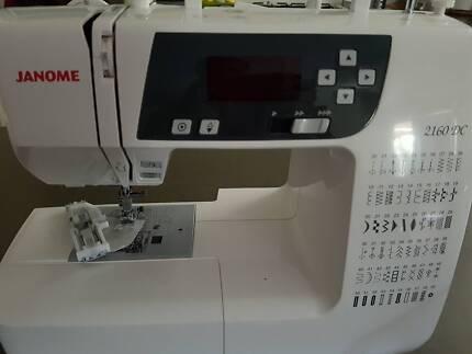 Janome 2160dc sewing machine