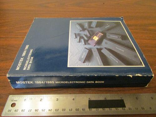 Mostek Microelectronic Data Book 1984/1985 Vintage Computer CPU