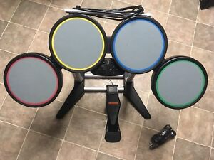 PS2 drums & microphone