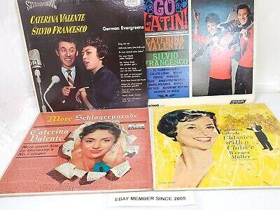 CATERINA VALENTE 4 LP LOT!