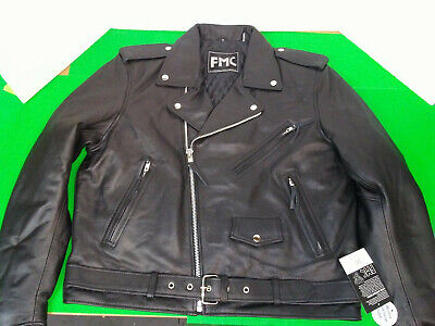 Superstar First Manufacturing Leather Jacket XL