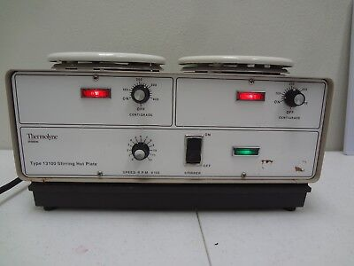 Sybron Thermolyne Type 13100 Stirring Hot Plate Sp13115
