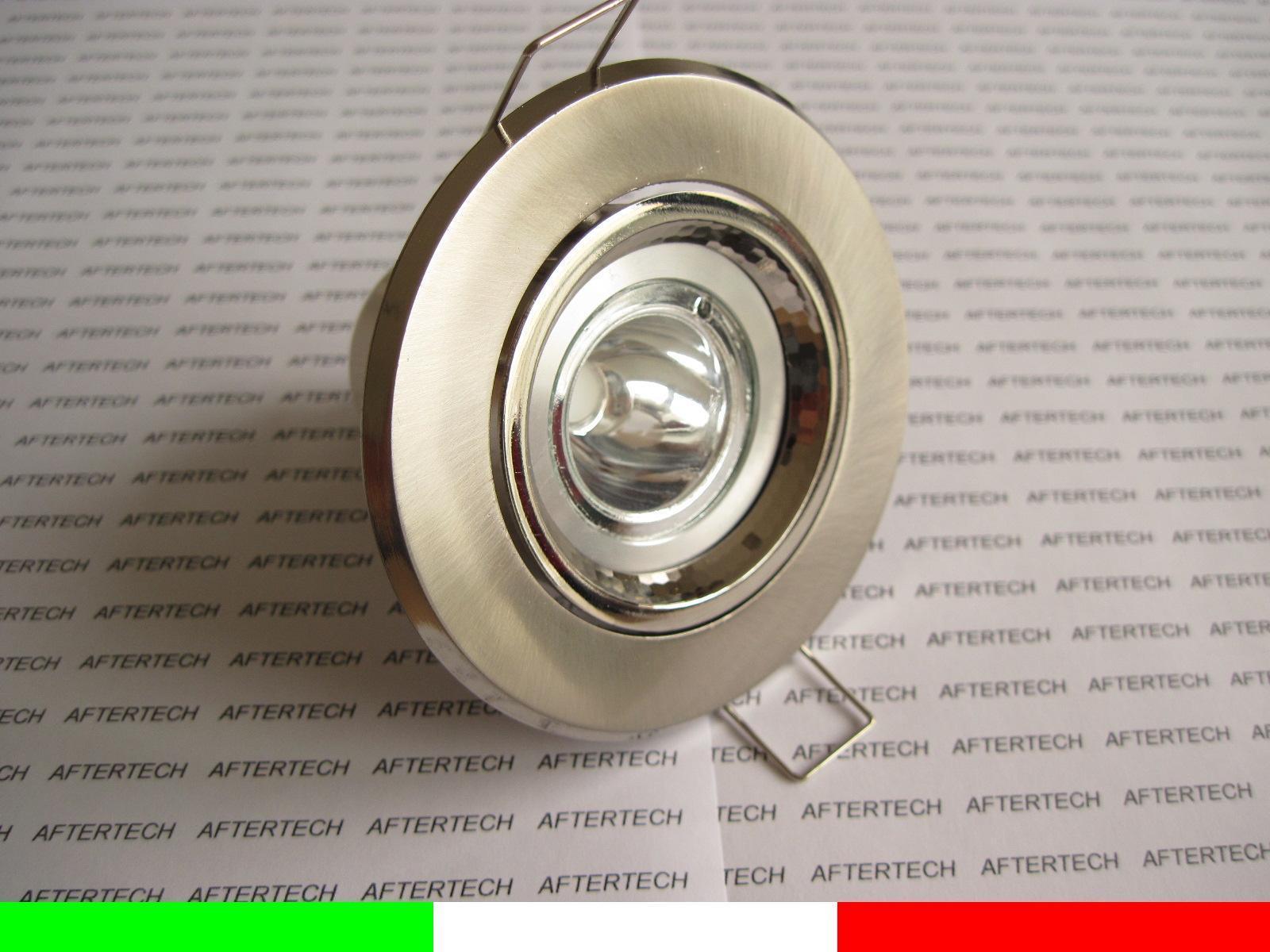 5w COB GU10 RGB FARETTO INCASSO SPOT CAMBIACOLORE 220v ORIENTABILE SUP BIANCO