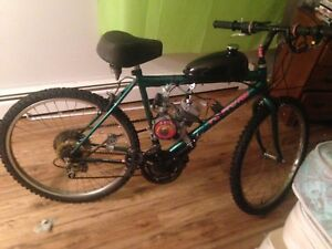 66cc /80cc motorized bike works great in showroom condition