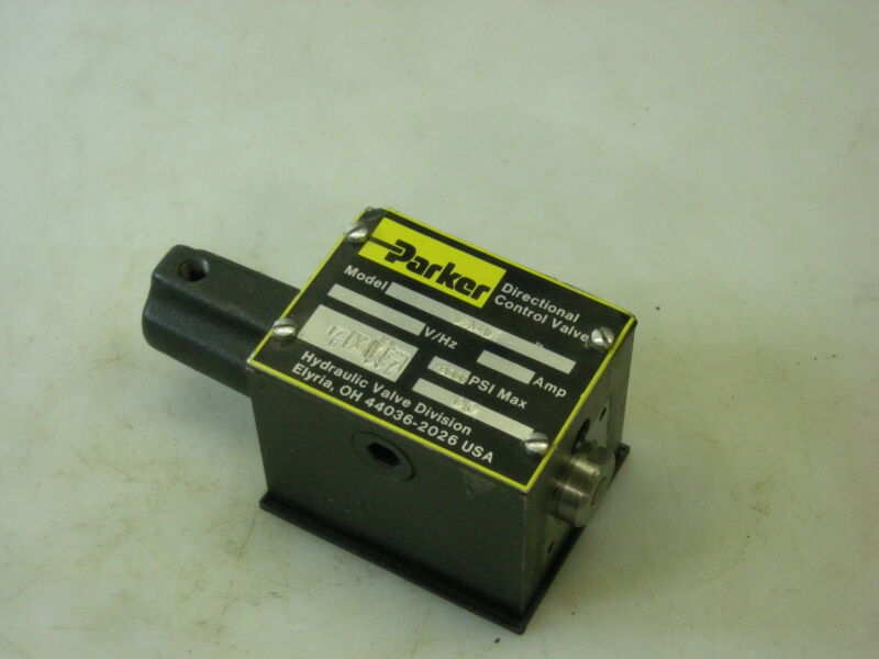 Parker Hannifin Directional Control Valve D3A1DN 20 Missing 1 Air Operator