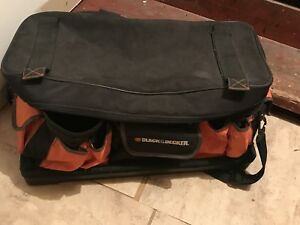 Black and decker tool bag